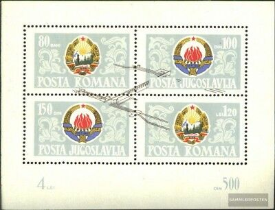 Romania block60 (complete issue) unmounted mint / never hinged 1965 dam