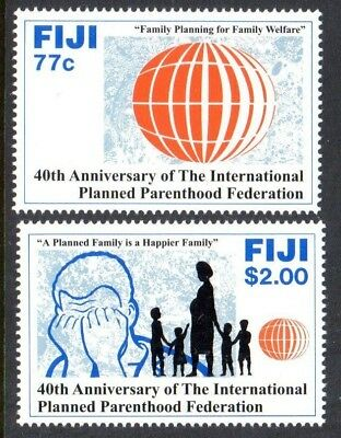 1992 FIJI PLANNED PARENTHOOD FEDERATION SG864-865 mint unhinged
