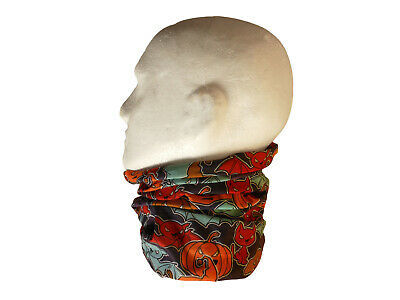 Neck/Face Warmer Tube Bandana Microfibre Halloween