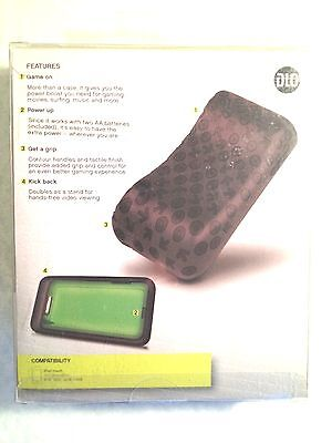 DLO GameCase Boost for EXTRA POWER for iPOD TOUCH 2nd & 3rd Generation DLA2265D