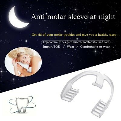Silicone Night Mouth Guard for Teeth Clenching Grinding Dental Bite Sleep Aid US