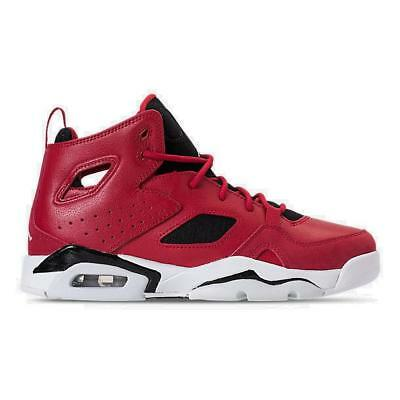 86dc70805666f Grade School Air Jordan Flight Club 91 Basketball Gym Red White Black  555472 600