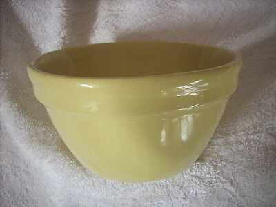 Fowler Ware Yellow Mixing Bowl Size 30