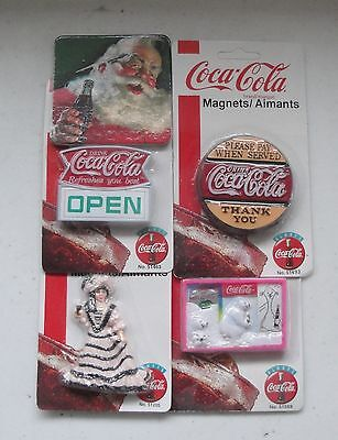Coca Cola Coke Magnets 8 Magnets, 5 Coasters 13 Items For 1 Money