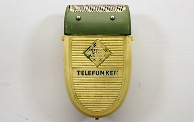 TELEFUNKEN vintage electric shaver for collectors. UNTESTED máquina de afeitar
