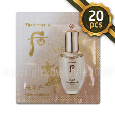 [The history of Whoo] Cheonyuldan Ultimate Regenerating Essence 1ml x 20pcs