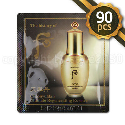 [The history of Whoo] Cheonyuldan Ultimate Regenerating Essence 1ml x 90pcs