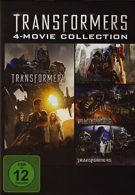 Transformers 1+2+3+4 - 4-Movie Collection # 4-DVD-BOX-NEU