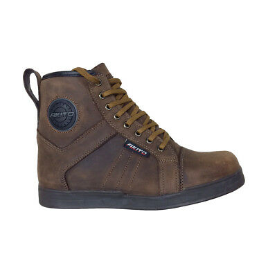 NEW Akito Citizen Urban Waterproof Motorcycle Ankle Boots