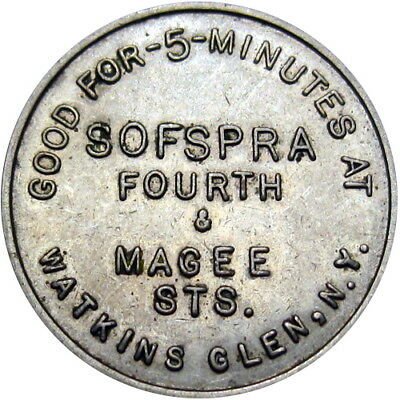 Watkins Glen New York Sofspra Car Wash Good For Token