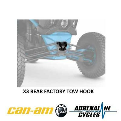 Can Am Maverick X3 tow hook recovery pull plate OEM NEW #715004450