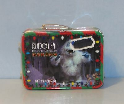 """Rudolph The Red Nosed Reindeerr Abominable Snowman """"Bumble"""" Mini Metal Lunchbox"""
