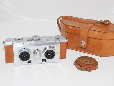 Contura Stereo /3D 35mm film camera. Very rare collectible. Only 130 ever made !