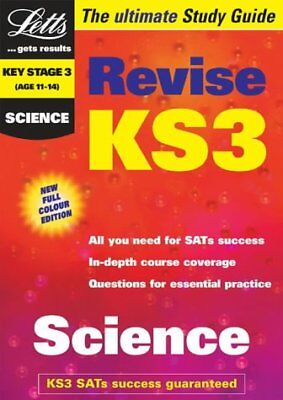 (Good)-Revise Key Stage 3 Science by Letts (Revise KS3 Study Guides) (Paperback)