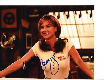 Home Improvement Debbie Dunning Signed Heidi Sexy By Car 8x10