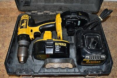 "Dewalt DC725 18v 1/2"" Dr Cordless Hammer Drill/Driver *AS IS, READ*"