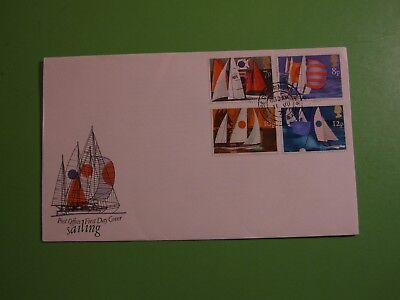 Gb Stamps 1975 Cover Fdc Sailing,  House Of Commons Double Ring Cds . See Post