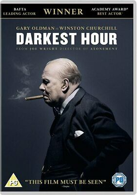Darkest Hour DVD (2018) Gary Oldman, Wright (DIR) cert PG FREE Shipping, Save £s
