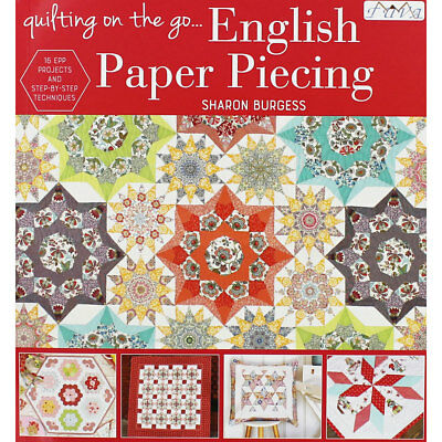 Quilting on the Go - English Paper Piecing (Paperback), Non Fiction Books, New
