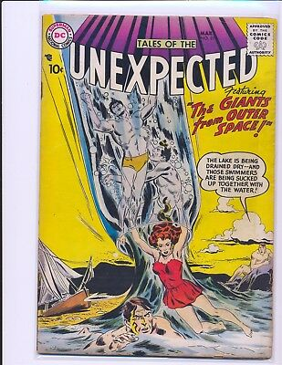 Tales of the Unexpected # 23 VG Cond. slight water damage