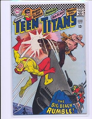 Teen Titans # 9 - Nick Cardy cover VG/Fine Cond.