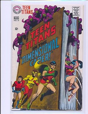 Teen Titans # 16 - Nick Cardy cover VG/Fine Cond.