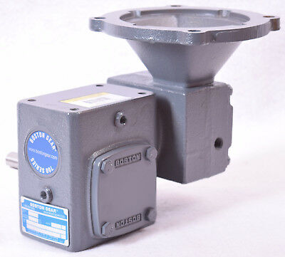 Boston Gear 700 Series C-Face Quilled Double Reduction Right Angle Reducer