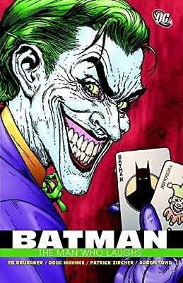 Batman The Man Who Laughs TP by Ed Brubaker (Paperback, 2009)