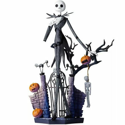 "7"" The Nightmare Before Christmas Jack Skellington Action Figure Toys Gift NB"