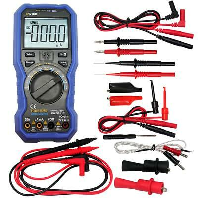 Owon OW18B Bluetooth Digital Multimeter TL809 test for FLUKE multimeter 20157