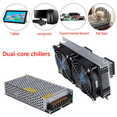 DC12V 10A 120W Thermoelectric Peltier Refrigeration Cooling System Cooler