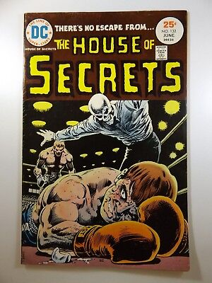 """The House of Secrets #132 """"The Contortionist!"""" Sharp VG+ Condition!!"""