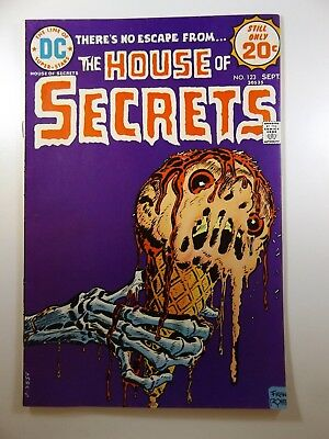 The House of Secrets #123 Classic DC Horror! Beautiful VF- Condition!!