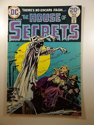 The House of Secrets #116 Classic DC Horror! Beautiful VG Condition!!