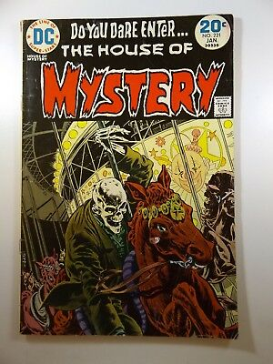 The House of Mystery #221 Classic DC Horror! Beautiful GVG Condition!!