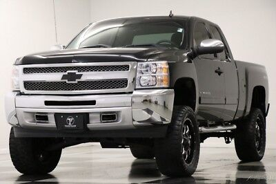 Chevrolet Silverado 1500 LT 4X4 Lifted Extended Cab Black Truck For Sale 2013 LT 4X4 Lifted Extended Cab Black Truck For Sale Used 5.3L V8 16V Automatic
