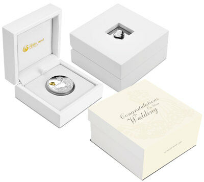 2018-P Australia Wedding Congratulations 1 oz Silver $1 GEM Proof OGP SKU52699