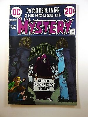 The House of Mystery #208 Classic DC Horror! Beautiful VG- Condition!!