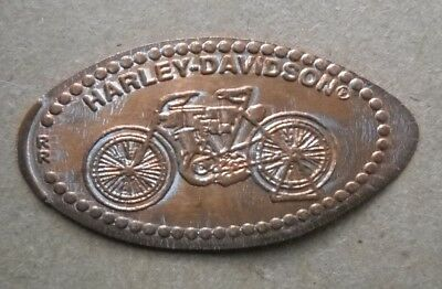 Harley Davidson Museum elongated penny Milwaukee WI USA cent souvenir coin