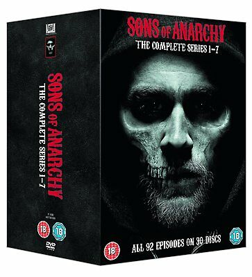 SONS OF ANARCHY COMPLETE SERIES 1 2 3 4 5 6 7 all 30 DVD NEW Box Set Sealed