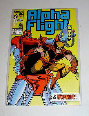 Alpha Flight #53  The 2Nd Jim Lee Work At Marvel - 1987