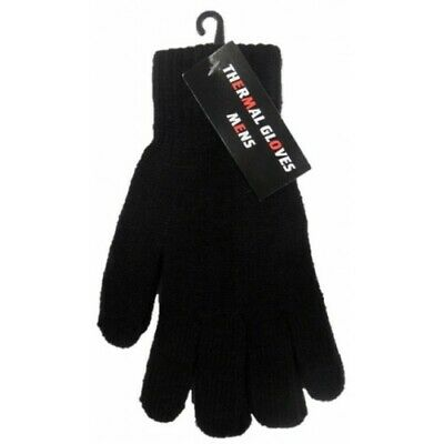 1-3 Pair Mens Thermal Gloves - Winter Thermal Gloves - (Clearance Glove)