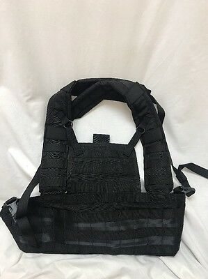 Eagle Industries Black Rhodesian Recon Vest Chest Rig RRV LE Duty SWAT