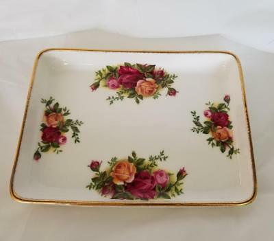 Royal Albert Old Country Roses Rectangular Trinket Tray