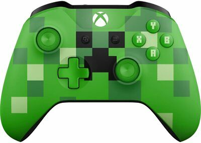 Minecraft Creeper Controller (Xbox One, One S, One X, 2017) (2347) Free Shipping