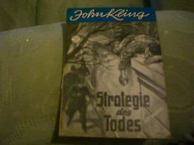 John Kling Nr. 25 / Strategie des Todes / Original