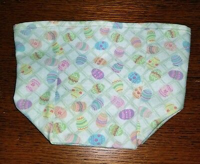 Tall Tissue Basket Liner from Longaberger Easter Egg Hunt fabric New & Crisp