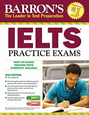 Barron's IELTS Practice Exams with Audio CDs, 2nd Edition: International Engl…