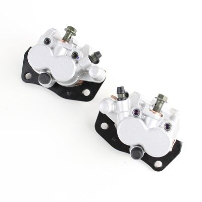 Front Left Right Brake Caliper Pad Set Pair for Yamaha Rhino 450 2006-2009