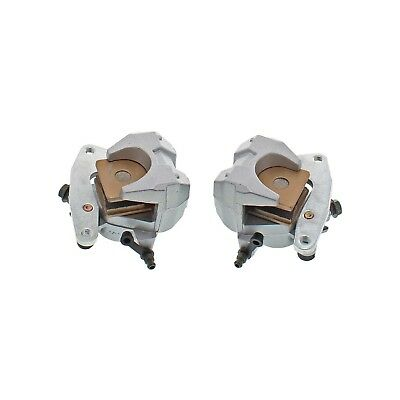 Front Left Right Brake Caliper Pad Set Pair for Yamaha Grizzly 450 2007-2014
